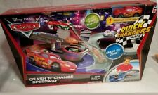 Disney Pixar Cars Quick Changers lightning mcqueen Playset New #46