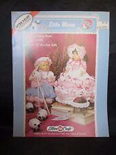 Little Misses Nursery Rhyme doll Outfits FibreCraft FCM391 Bo Peep Miss Muffet