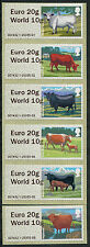 "WINCOR TYPE II CATTLE DUAL VALUE SET OF 6 ""EURO 20g/WORLD 10g""  POST & GO"