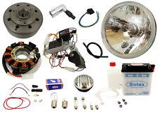 Vape 3 Zündung 12V mit Batterie und Klarglasscheinwerfer Simson Schwalbe KR51