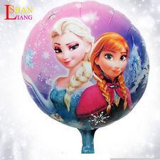 """HUGE 2-Sided Frozen Elsa Anna Mylar Jumbo Balloon Birthday Party Supplies 18"""" 1X"""