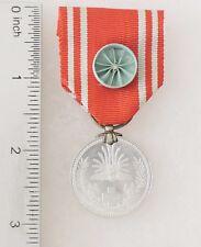Japan Red Cross Medal w/rosette