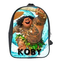 MAUI Moana movie Personalized School childrens kid KINDY preschool Bag Backpack