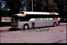 Orig. Bus / Motorcoach Slide Indiana Motor Bus 220