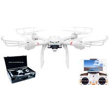 FPV Wifi 3D Drohne/Quadcopter in Alukoffer 3x Akku HD Livebild C4010 Coming Home