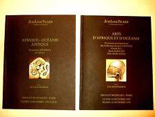 Catalogues Art Afrique Océanie Antique Picard Drouot Paris Illustré N&B Couleurs