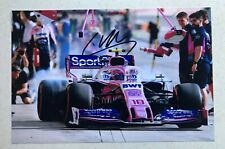 ***  LANCE STROLL  -  RACING POINT / MERCEDES  -  SIGNED  -  F1 ***  photo