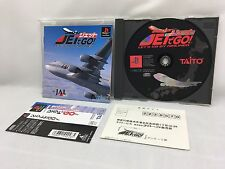 Sony PlayStation Jet de Go! JAL Obi(Spine) Postcard TrackingNumber from Japan