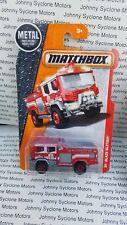 MATCHBOX BLAZE BLITZER PUMPER FIRE & EMERGENCY VEHICLE MBX RESCUE 76/125
