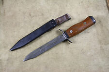 Polish Airborne Commando Dagger Fighting Trench Knife Wz 55 MATCHING NUMBER