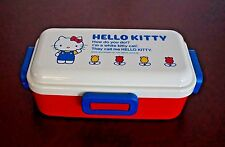 Authentic JAPAN Sanrio 70s Hello Kitty 530ml Lunch Box Bento Chopsticks Ice Pack