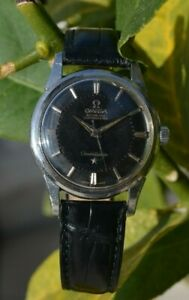 Omega Constellation Pie Pan 14381 cal. 551 black dial