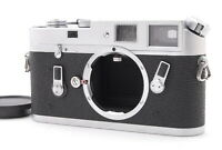 *NEAR MINT* Leitz Leica M4 Silver 35mm Rangefinder Film Camera From JAPAN #FedEx