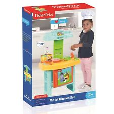 NEW FISHER PRICE MY 1ST KITCHEN SET FOR KIDS 1820