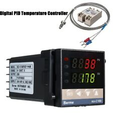 Digital PID kits de regulador de temperatura 0 ℃~ 1300 ℃ AC110V-240V 40A alarma REX-C100