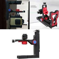 Universal Adjustable Laser Level Magnetic Wall Bracket Hang L-shape Hook Bracket