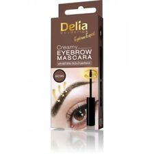 Delia® Expert DAILY Creamy Maskara, Eyebrow Color-BROWN+Natural Oils&D-Panthenol