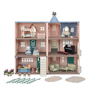 Sylvanian Families 5504 Deluxe Celebration Home Premium Set - Dollhouse Playsets