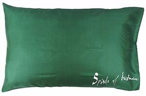 Silk Pillowcase Cover Slip Cushion Bed Home Travel Clean 50x75cm Standard Queen