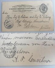 Astronom Armin Otto LEUSCHNER (1868-1953): Signierte deutsche PK BERKELEY 1902
