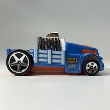 2016 Hot Wheels Crate Racer #173/250 Blue HW City Works 8/10 Best For Track