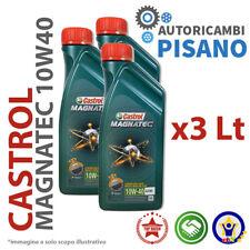 3 LITRI DI OLIO MOTORE ORIGINALE CASTROL MAGNATEC 10W40