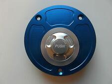 Suzuki GSX R 1000 GSX R 750 GSX R 600 Tankdeckel xp1 blau si