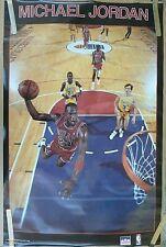 RARE MICHAEL JORDAN BULLS 1988 VINTAGE ORIGINAL STARLINE NBA POSTER