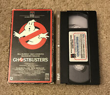 Ghostbusters VHS Tape With Side Flap 1985