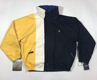 Vintage Nautica Reversible Color Block Jacket Competition Challenge 90's NWT - M