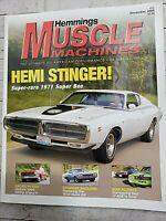 Hemmings Muscle Machines # 15 Dec. 2004 Hemi Stinger Super Rare 1971 Super Bee