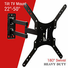 "22""-50"" LCD LED Plasma Flat Tilt Full Motion Swivel TV Wall Mount Bracket"
