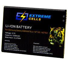 Extremecells batería Samsung Galaxy Note 2 Note II eb595675lu Battery batería