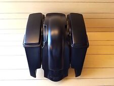 "6""SADDLEBAGS,LIDS AND  4 POINT DOCKING REAR FENDER FIT 2009-2013"