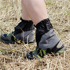 Waterproof Shoes Gaiters Ultralight Ankle Foot Cover For Hiking Skiing Outdoor