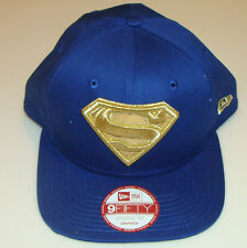 new concept 79835 99285 New Era Cap Hat Hero Shine Snapback Superman Original Fit Super Hero 9fifty  Gold