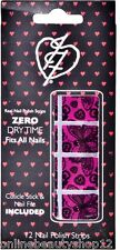 IRON Fist Lovelace ROSA NAIL POLISH Strisce, ARTE, Adesivi Halloween