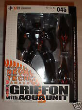 GRIFFON TYPE-J9  W/ AQUA UNIT 045 PATLABOR BY KAIYODO MANGA FIGURE RETIRED 2003