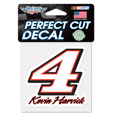 "NEW Kevin Harvick #4  3-1/2"" by 3-1/2"" Die Cut  Decal NASCAR"