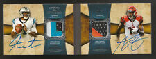2011 TOPPS FIVE STAR CAM NEWTON A.J. GREEN AUTO ROOKIE PATCH BOOK 6/15 RARE MINT