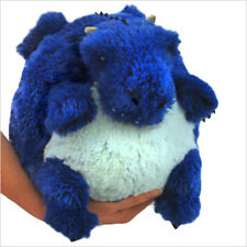 "SQUISHABLE Plush Mini Dragon 7"" round stuff animal Amazingly soft NEW in Pkg"