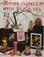 Drying Flowers with Silica Gel Vintage How to Guide Craft Instruction Book