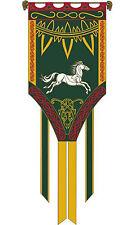 Banner von Eomer  - Herr Der Ringe Flagge Replica Fahne ca 66 x 185cm neu