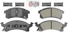 Disc Brake Pad Set-AmeriPlatinum Metallic with Hardware Front Autopartsource