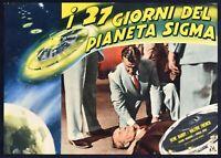 Fotobusta I 27 Giorni De Planeta Sigma El 27th Día William Asher Barry En R125