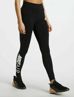 Nike Leggings Womens Large Black Sportswear Air Tight Fit Gym and Training Pants