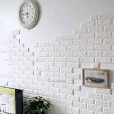 New 60 X 60cm 3D Brick Pattern Wall Sticker Living Room Wall Background TV Decor
