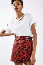 Topshop Leather Mini Skirts for Women