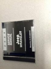 2005 JEEP WRANGLER Service Shop Repair Manual CD DVD OEM Mopar