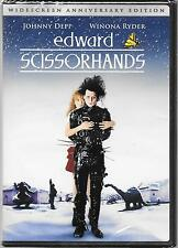 Edward Scissorhands (DVD, 2005, 10th Anniversary Edition) ***Brand NEW!!***